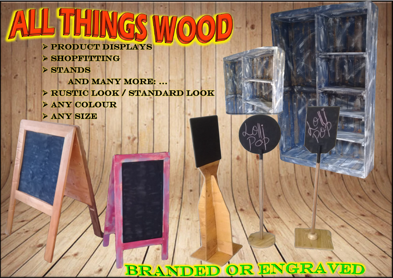 Wood Displays