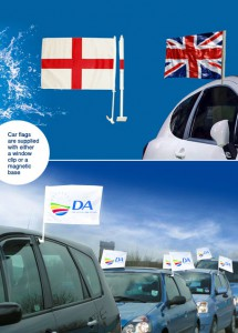 car-flags