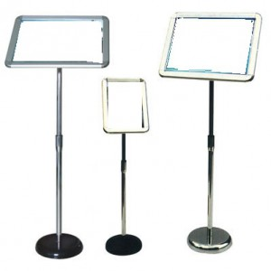 Height Adjustable Poster Stand