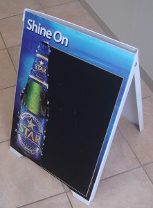 star-lager-sandwich-boards