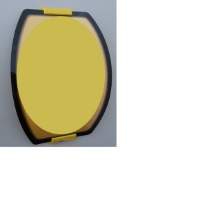 oval curved poster frame